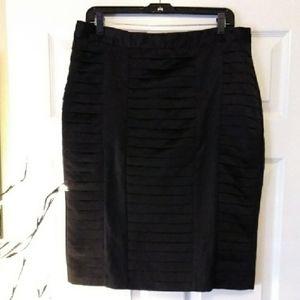 WORTHINGTON satin look bandage skirt. 12